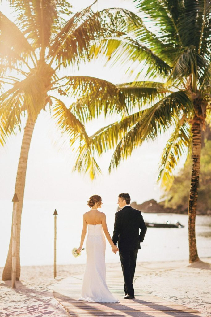 Wedding Photography at Sugar Beach St. Lucia