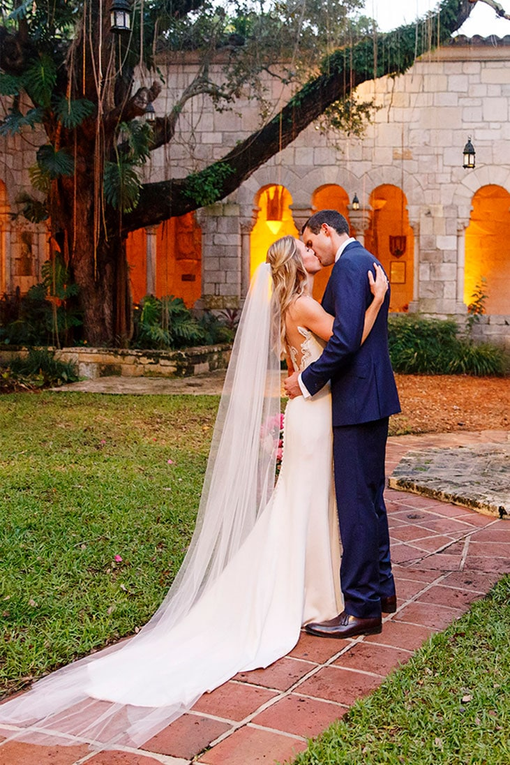 Spanish Mansion Wedding, Miami